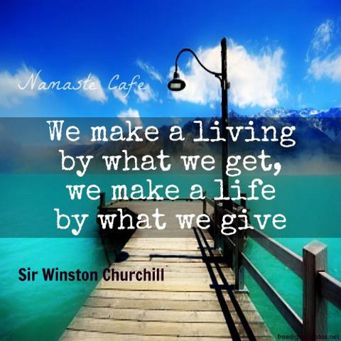 what give: